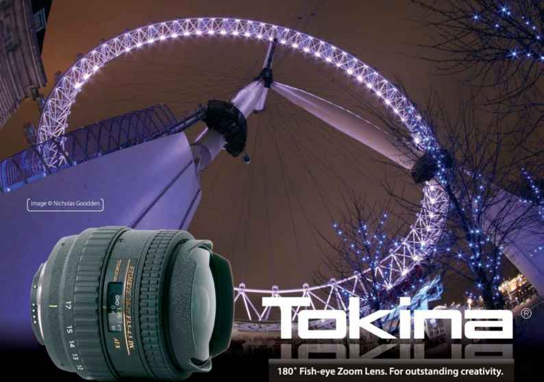 London Fish Eye Tokina